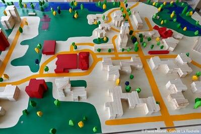 Villeneuve-les Salines : la Maison du PRU