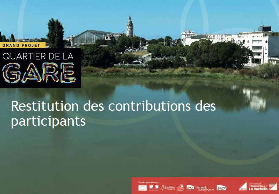 Grand projet quartier de la gare : restitution des contributions des participants